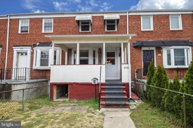 1941 Quentin Road, Baltimore, MD 21222 - #: MDBC488662