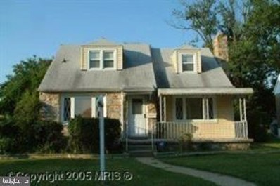 6505 Kriel Street, Baltimore, MD 21207 - #: MDBC490256