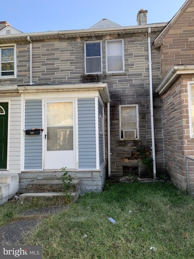 113 Baltimore Avenue, Baltimore, MD 21222 - MLS#: MDBC492884