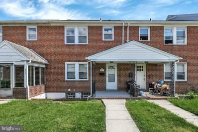 4611 Wilkens Avenue, Baltimore, MD 21229 - #: MDBC493810