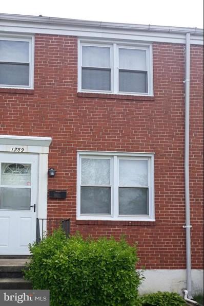 1759 Weston Avenue, Baltimore, MD 21234 - #: MDBC494108