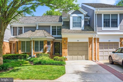 38 River Oaks Circle, Baltimore, MD 21208 - #: MDBC499028