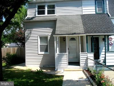 2419 Woodridge Road, Baltimore, MD 21219 - #: MDBC502464