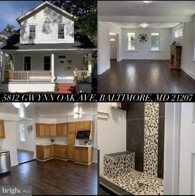 5812 Gwynn Oak Avenue, Baltimore, MD 21207 - #: MDBC509028