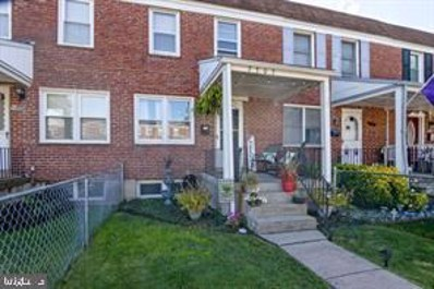 7426 Manchester Road, Baltimore, MD 21222 - #: MDBC509622