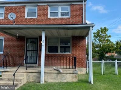 279 Southeastern Terrace, Baltimore, MD 21221 - #: MDBC510756