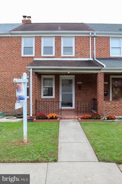 7213 Stratton Way, Baltimore, MD 21224 - #: MDBC510898