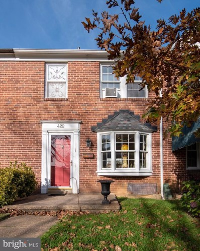 422 Overbrook Road, Baltimore, MD 21212 - #: MDBC512372