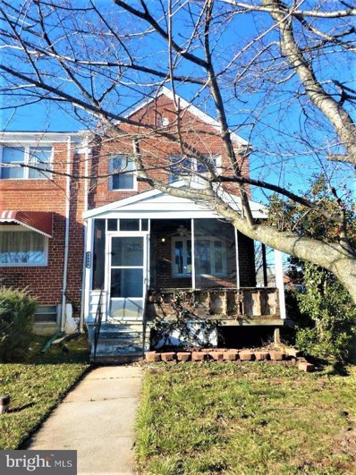 5444 Whitlock Road, Baltimore, MD 21229 - #: MDBC512732
