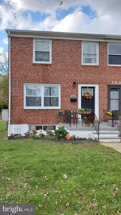 1636 Riverwood Road, Baltimore, MD 21221 - #: MDBC514540