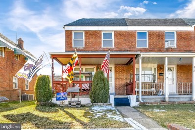 814 Jaydee Avenue, Baltimore, MD 21222 - #: MDBC520630