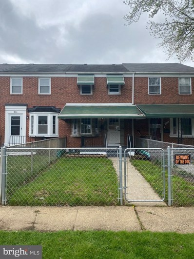 931 Middlesex Road, Baltimore, MD 21221 - #: MDBC525416