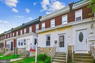 137 Ventnor Terrace, Baltimore, MD 21222 - #: MDBC525586