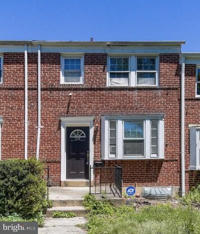218 Ridge Avenue, Baltimore, MD 21286 - #: MDBC532580