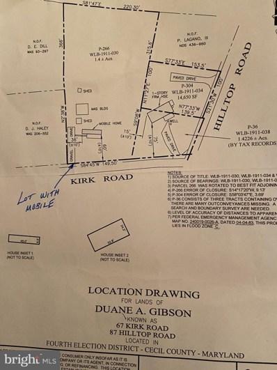 67 Kirk Rd, Elkton, MD 21921 - #: MDCC168796