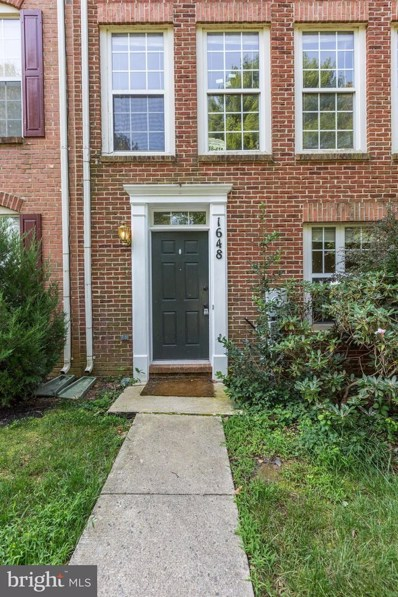 1648 Wheyfield Drive, Frederick, MD 21701 - MLS#: MDFR100270