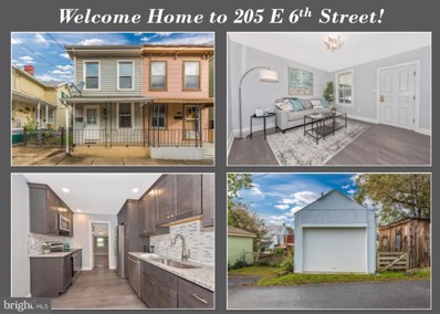 205 E 6TH Street, Frederick, MD 21701 - #: MDFR191454