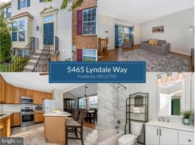 5465 Lyndale Way, Frederick, MD 21703 - #: MDFR2006016