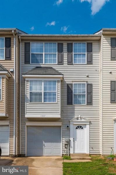 1337 Hampshire Drive UNIT C, Frederick, MD 21702 - MLS#: MDFR245336