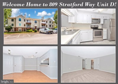 809-D  Stratford Way UNIT 1400D, Frederick, MD 21701 - #: MDFR249324