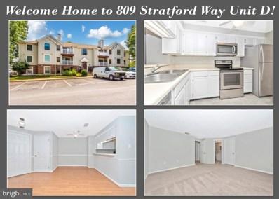 809-D  Stratford Way UNIT 1400D, Frederick, MD 21701 - #: MDFR249324