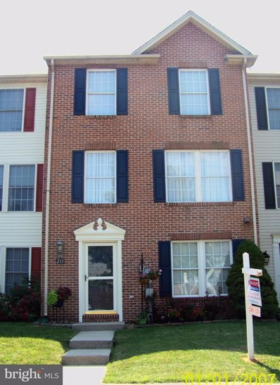 215 Heritage Court, Walkersville, MD 21793 - #: MDFR251472