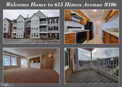 615 Himes Avenue UNIT 106, Frederick, MD 21703 - #: MDFR257658