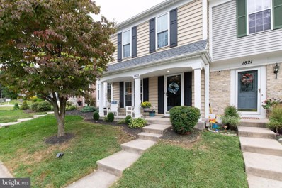 1823 Oxford Square, Bel Air, MD 21015 - #: MDHR238696