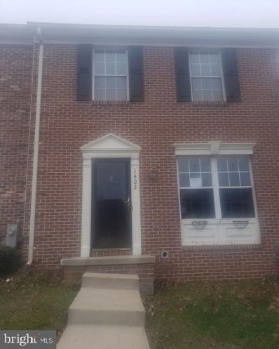 1402 Primrose Place, Belcamp, MD 21017 - #: MDHR243748