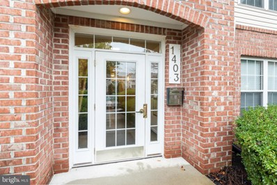 1403-K  Bonnett Place UNIT 170, Bel Air, MD 21015 - #: MDHR252190