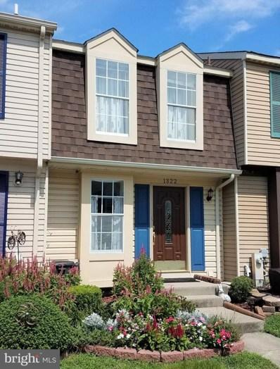 1322 Acorn Ridge Court, Edgewood, MD 21040 - #: MDHR253316