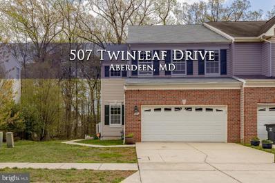 507 Twinleaf Drive, Aberdeen, MD 21001 - #: MDHR258976