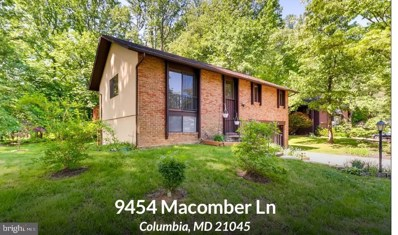 9454 Macomber Lane, Columbia, MD 21045 - #: MDHW262612