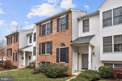3208 W Springs Drive UNIT 34, Ellicott City, MD 21043 - #: MDHW273376