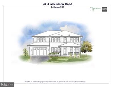 7834 Aberdeen Road, Bethesda, MD 20814 - #: MDMC101008