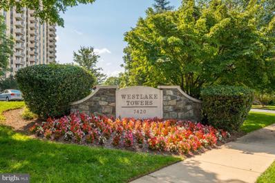 7420 Westlake Terrace UNIT 1008, Bethesda, MD 20817 - #: MDMC2014960
