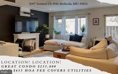 5007 Sentinel Drive UNIT 40, Bethesda, MD 20816 - #: MDMC2020426