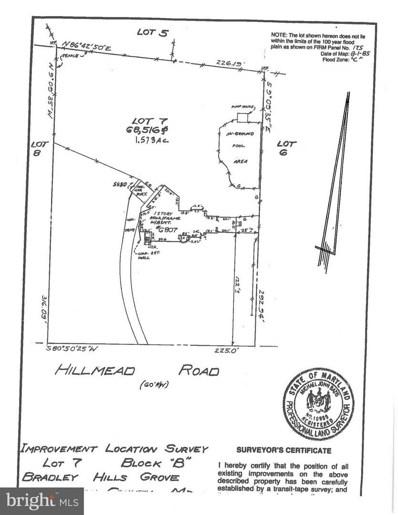 6807 Hillmead Road, Bethesda, MD 20817 - #: MDMC488050