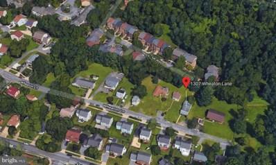 1307 Wheaton Lane, Silver Spring, MD 20902 - MLS#: MDMC488162