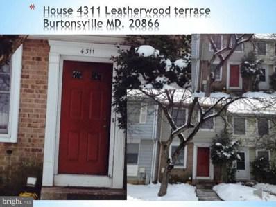 4311 Leatherwood Terrace, Burtonsville, MD 20866 - #: MDMC559606