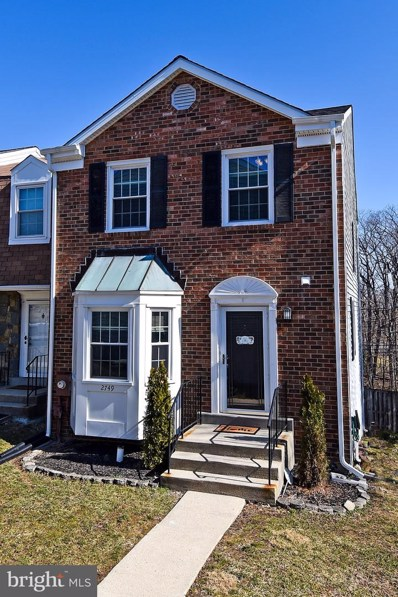 2749 Sweet Clover Court, Silver Spring, MD 20904 - #: MDMC623498