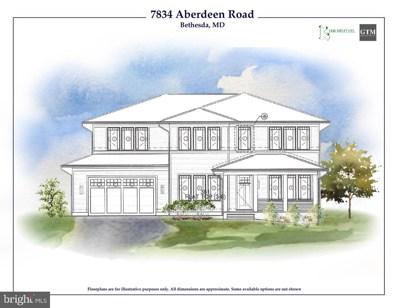 7834 Aberdeen Road, Bethesda, MD 20814 - #: MDMC657570