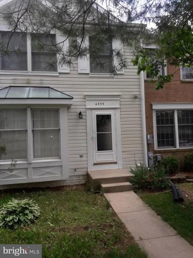 4355 Regalwood Terrace, Burtonsville, MD 20866 - #: MDMC658198