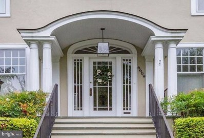 6609 Brookville Road, Chevy Chase, MD 20815 - MLS#: MDMC664864