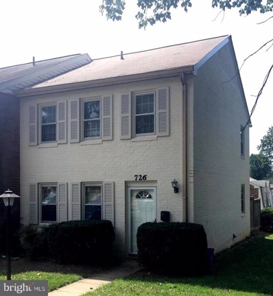 726 Azalea Drive UNIT 10, Rockville, MD 20850 - #: MDMC669936