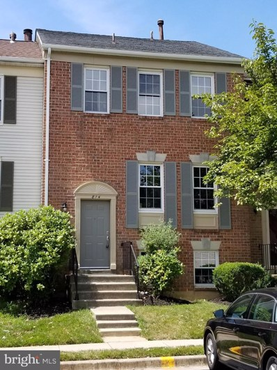 814 Ivy League Lane UNIT 6-33, Rockville, MD 20850 - #: MDMC670018