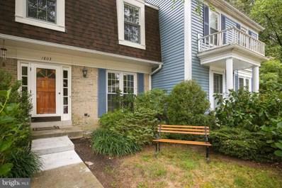 1803 Tufa Terrace, Silver Spring, MD 20904 - #: MDMC677966
