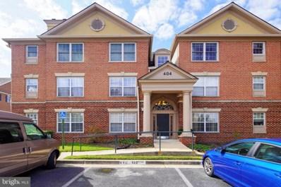 404 Ridgepoint Place UNIT 14, Gaithersburg, MD 20878 - #: MDMC681740