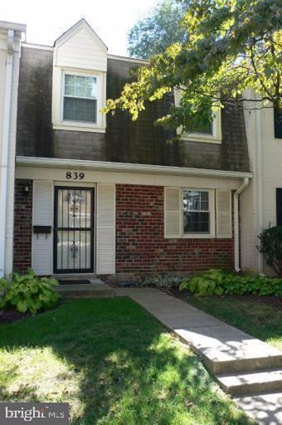 839 Azalea Drive UNIT 28, Rockville, MD 20850 - #: MDMC696022