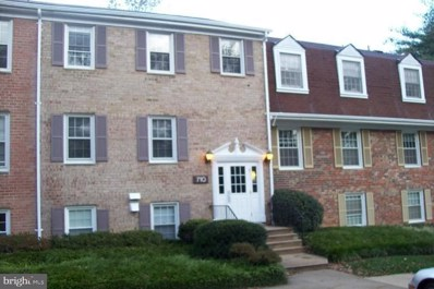 710 Quince Orchard Boulevard UNIT 201, Gaithersburg, MD 20878 - #: MDMC699010